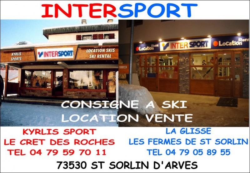 Location de ski saint sorlin d 39 arves intersport - Office du tourisme saint sorlin d arves ...
