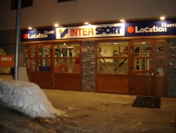 Magasin intersport la glisse location de ski à st sorlin d'arves